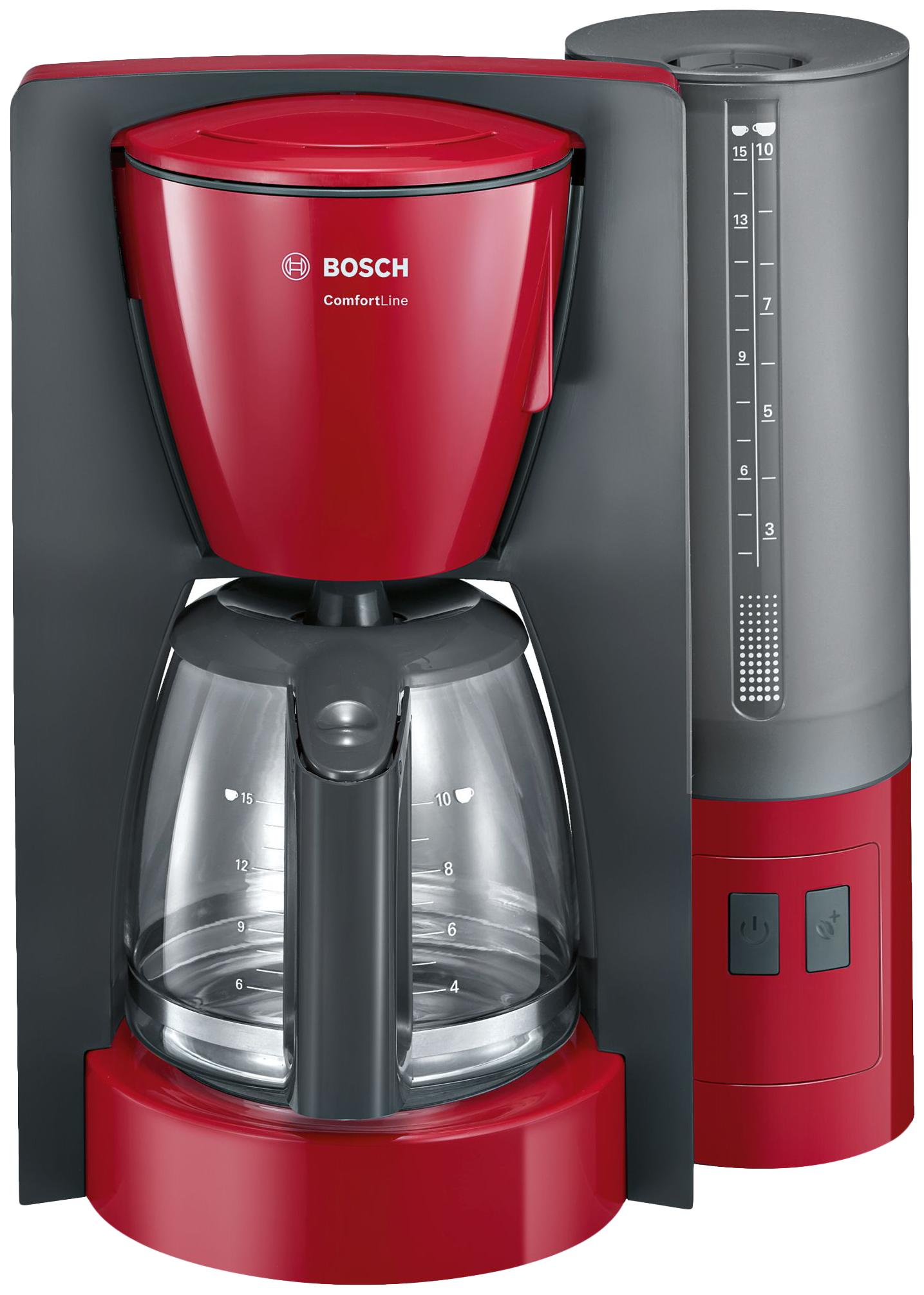 Кофеварка капельного типа Bosch ComfortLine TKA6A044 Red фото