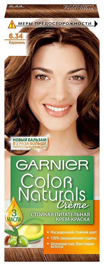 Краска для волос Garnier Color Naturals 6.34 Карамель 110 мл