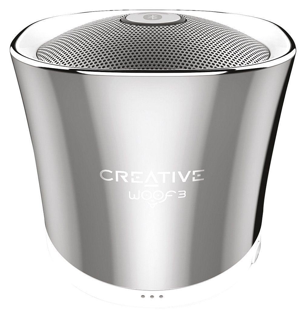 Беспроводная акустика Creative Woof 3 Silver (51MF8230AA000)