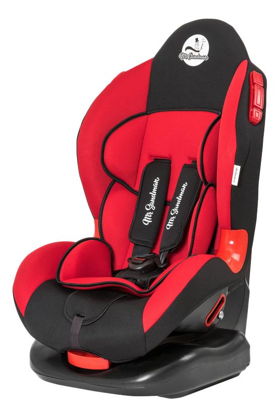 Купить Автокресло Mr Sandman Future группа 1/2, Красный, Черный (KRES0998), Детские автокресла