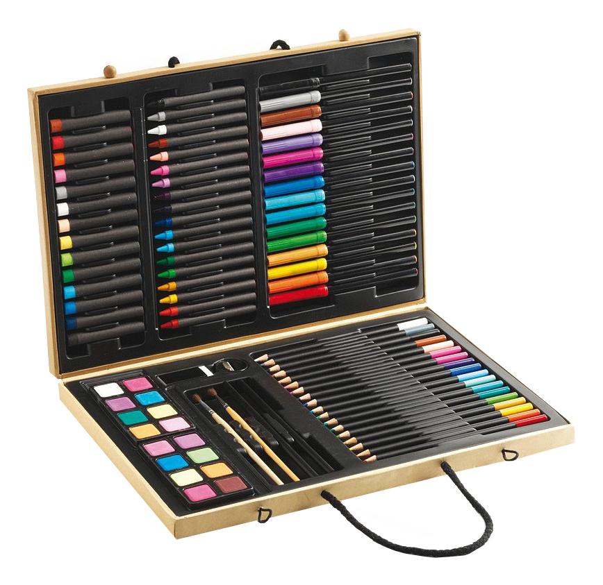 Купить 9750, Набор Djeco Карандаши, фломастеры и краски, Наборы для рисования