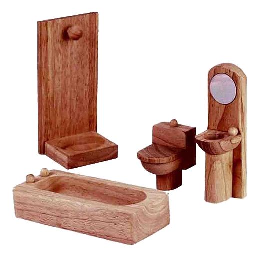 Игровой набор Plan Toys Ванная комната Классик