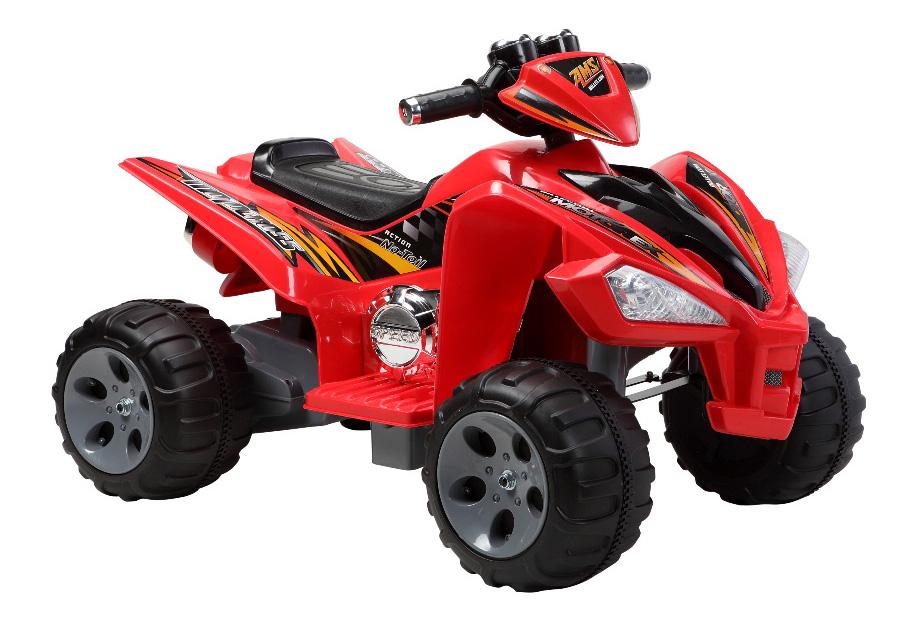 Купить Электроквадроцикл 25W, красный, Электроквадроцикл Shanghai Inter 25W красный, Электромобили