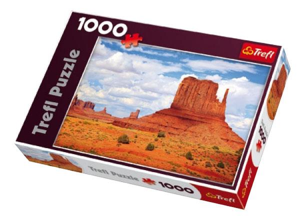 Купить Долина монументов США 1000 деталей, Пазл Trefl Долина монументов США 1000 деталей, Пазлы