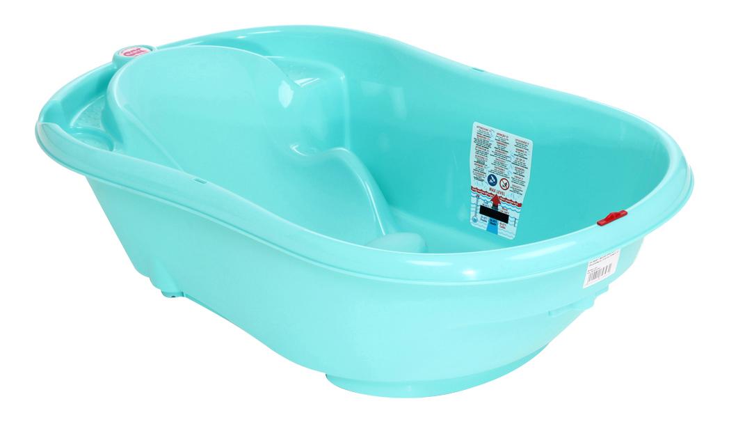 Ванночка пластиковая Ok Baby Onda оранжевый