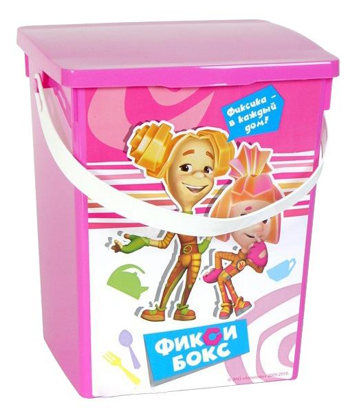 """Ящик для хранения игрушек Полимербыт """"Фиксики"""""""