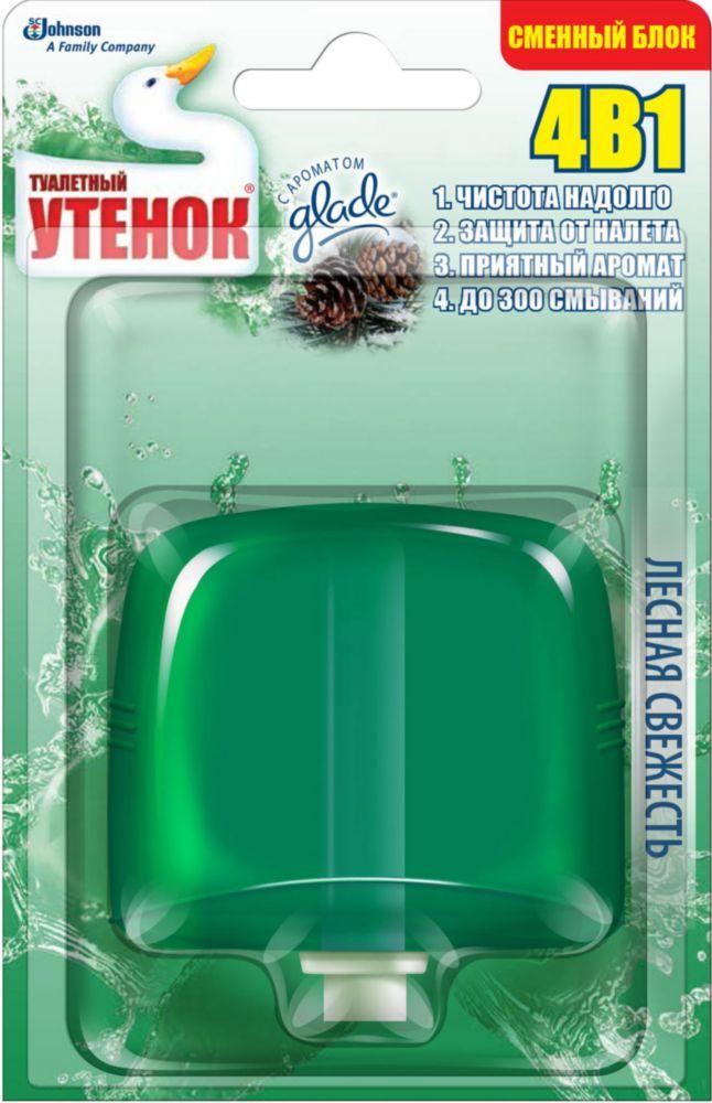 Очиститель для унитаза подвесной сменный блок Туалетный
