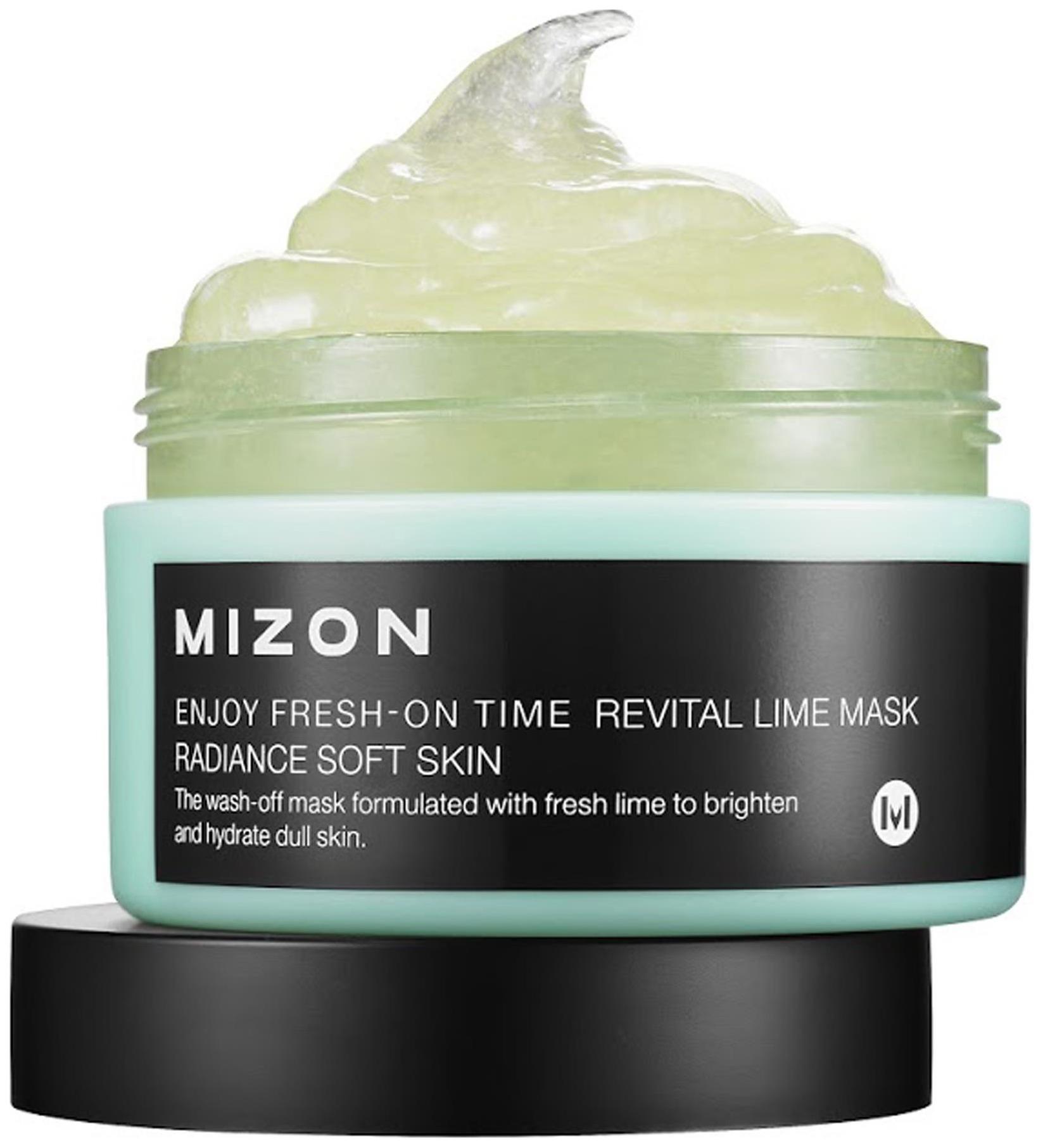 Купить Маска для лица MIZON Enjoy Fresh On-Time Revital Lime Mask 100 мл
