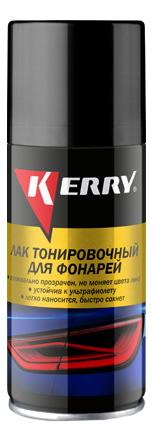Лак для тонировки фар красный KERRY