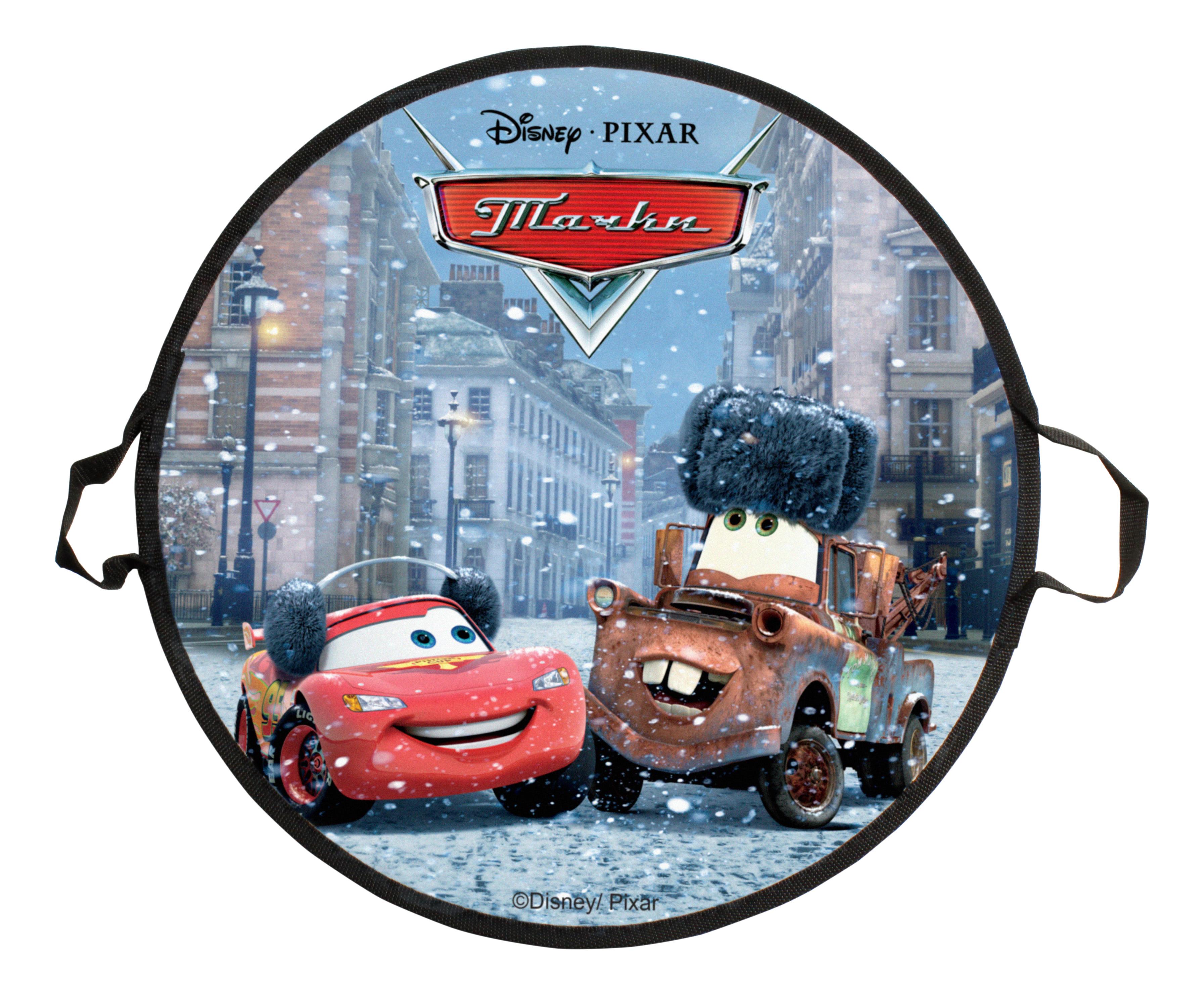 Ледянка Disney Тачки 52 см, круглая 1TOY Т58474 1 TOY