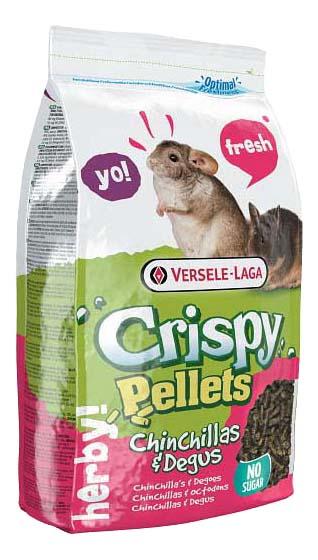 Корм для шиншилл и дегу Versele-Laga Crispy Pellets Chinchillas#and#Degus, в гранулах, 1 кг