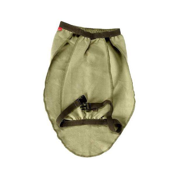 Попона для собак OSSO Fashion размер L унисекс, зеленый, длина спины 35 см