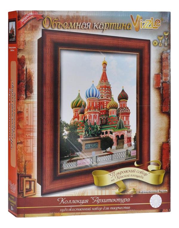 Аппликация из картона Vizzle Собор Василия Блаженного