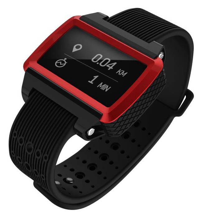 Смарт часы Remax RBW W2 Red/Black