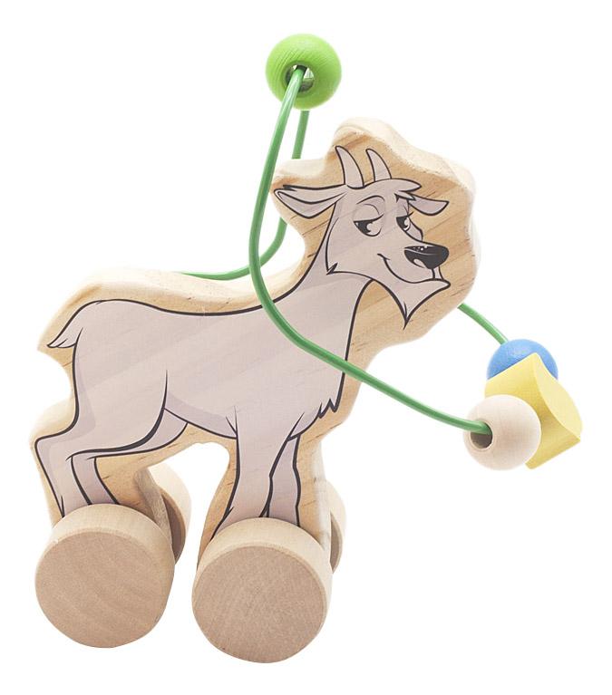 Купить Каталка детская Мир Деревянных Игрушек Козел, Игрушечные машинки