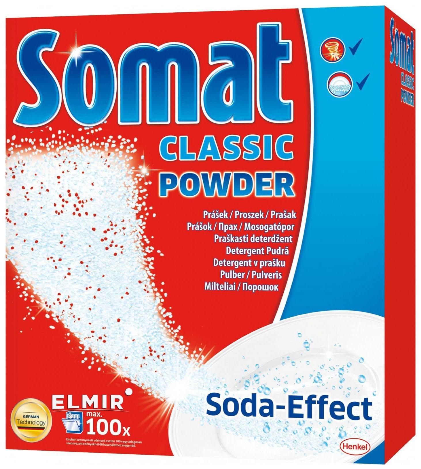 Порошок для посудомоечной машины Somat classic