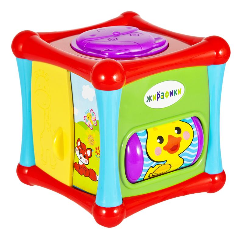 картинка Развивающая игрушка Жирафики Кубик от магазина Bebikam.ru