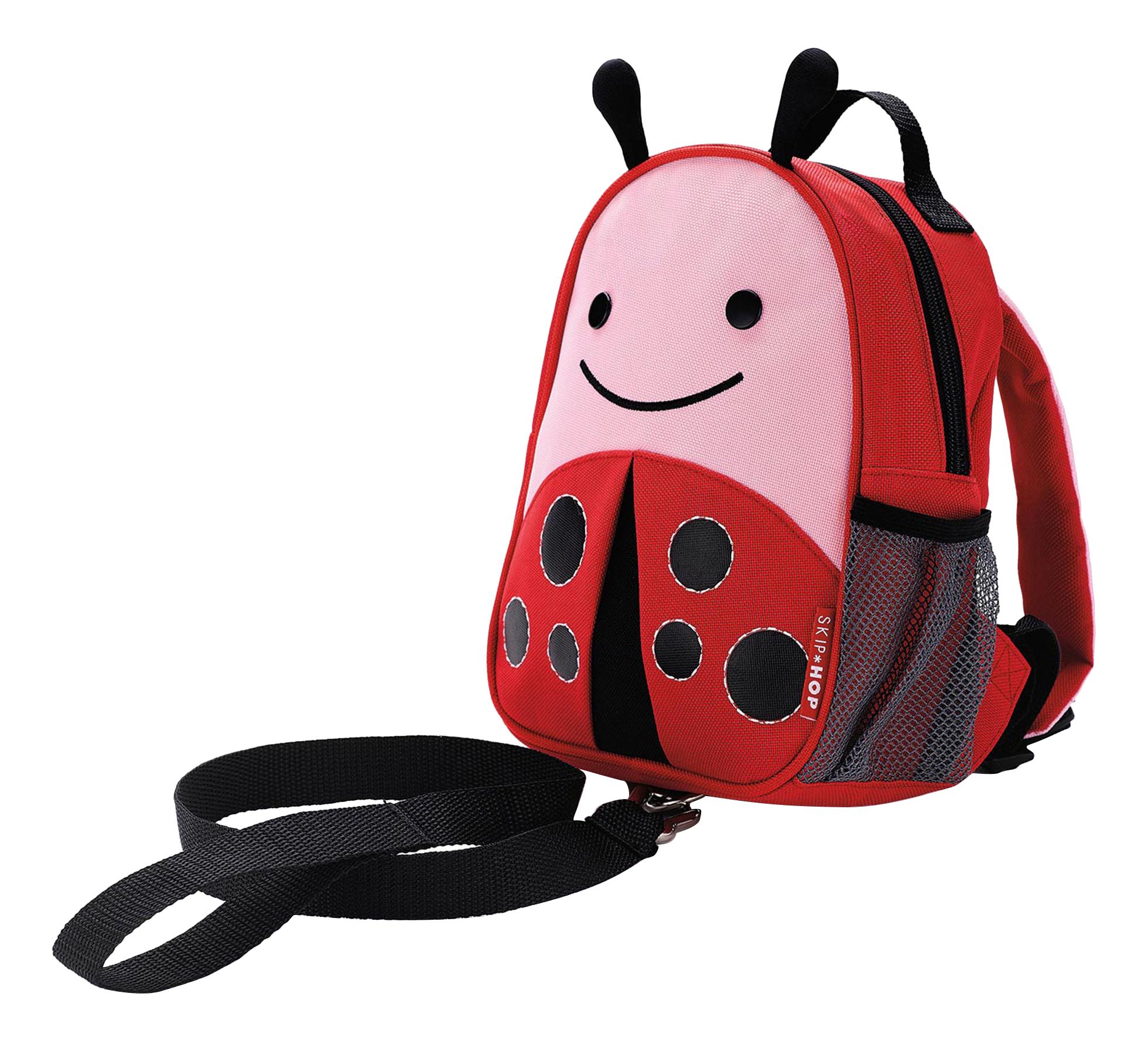 Купить Рюкзак детский Skip Hop с поводком Божья коровка SH 212210, Школьные рюкзаки и ранцы