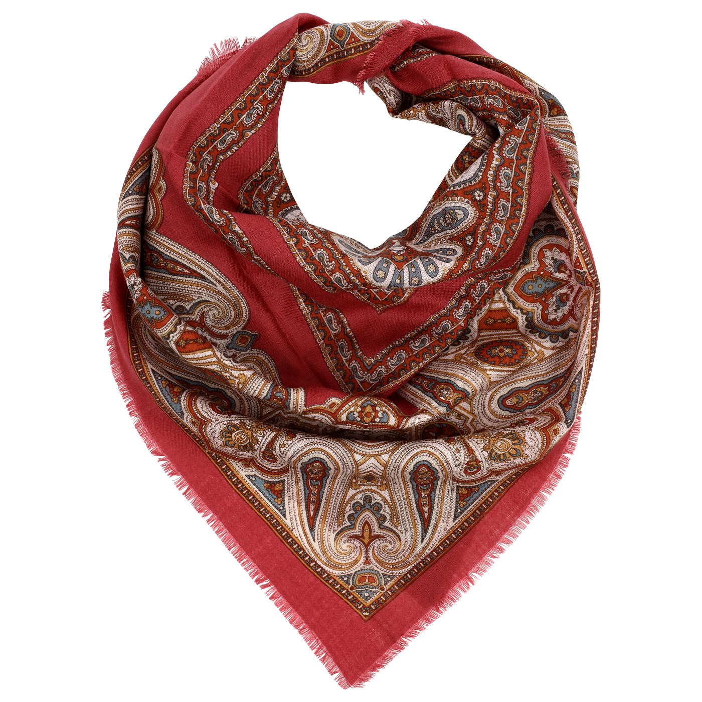 Женский шерстяной платок Dr, Koffer S810454-135-03 фото