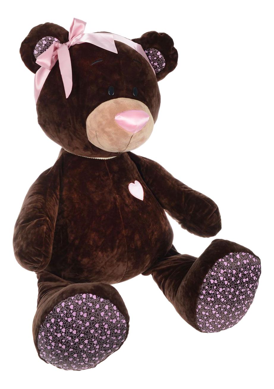 Мягкая игрушка Orange Toys Медведь девочка Choco#and#Milk сидячая 50 см коричневый М004/50