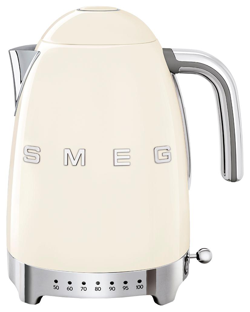 Чайник электрический Smeg KLF04CREU Beige