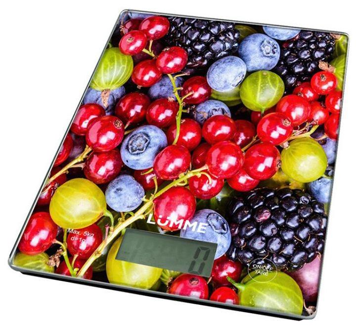 Весы кухонные LUMME LU 1340 Berry mix