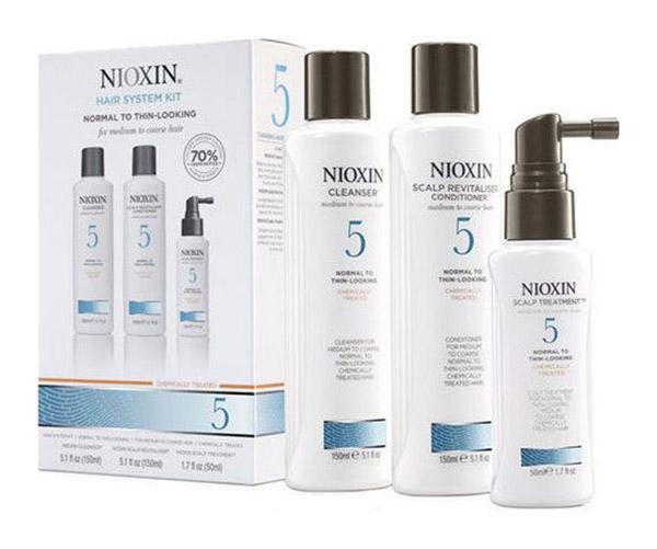 Подарочный набор Nioxin System 5 150 мл+150 мл+50