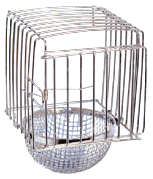 Кормушка для птиц Triol, металл, серебристый