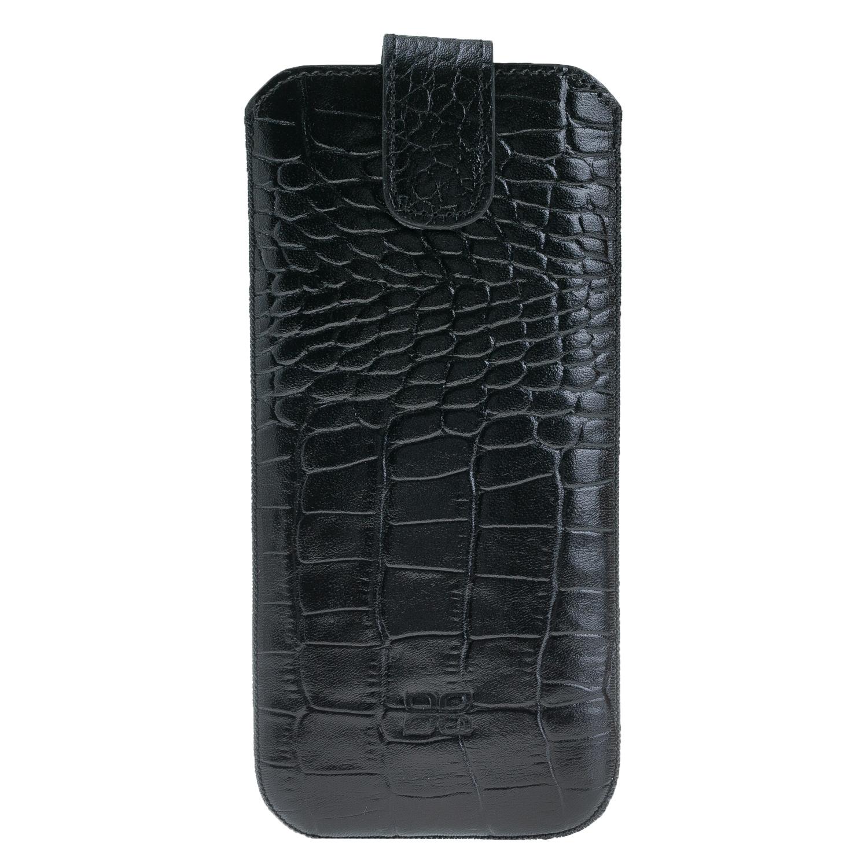Чехол кожаный Bouletta мешочек для для Samsung Galaxy S7 Edge, Черный-k1