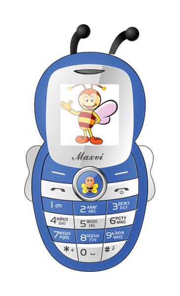 Мобильный телефон Maxvi J8 Blue