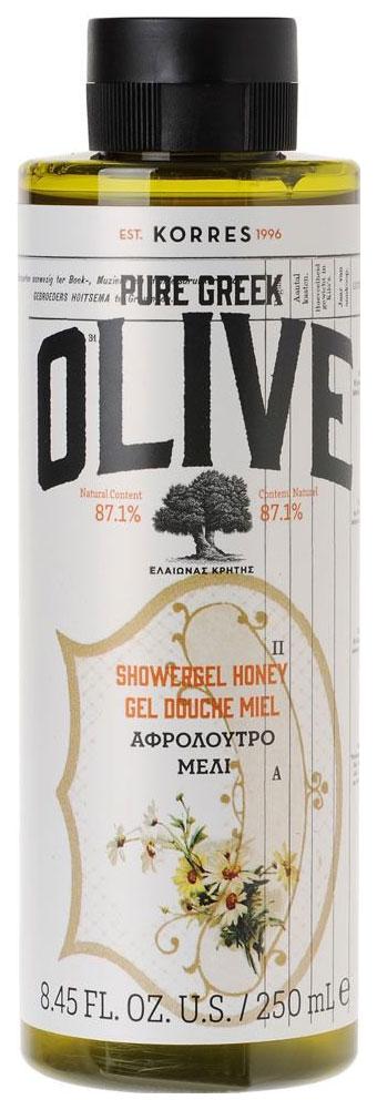 Гель для душа Korres Pure Greek Olive Honey 250 мл