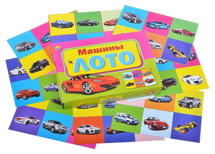 Купить Игра настольная Рыжий кот Лото Машины, Семейные настольные игры
