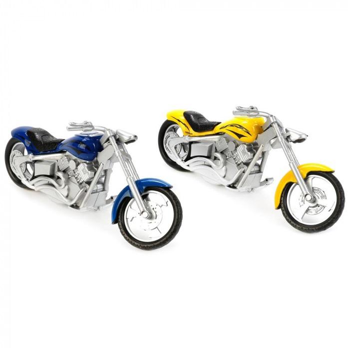Мотоцикл Технопарк Мотоцикл чоппер разноцветный 1297170 r