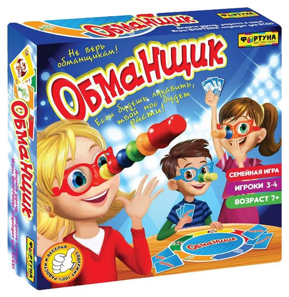 Купить Семейная настольная игра Фортуна Обманщик Ф71779, Семейные настольные игры