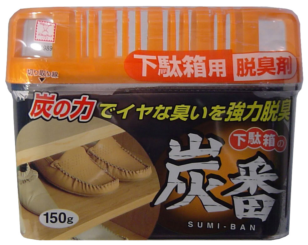 Поглотитель неприятных запаховKokubo  с древесным углем 150 г