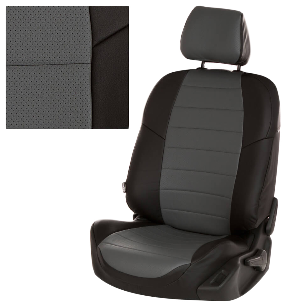 Комплект чехлов на сиденья Автопилот Skoda sk-rp-ra-chese-e фото