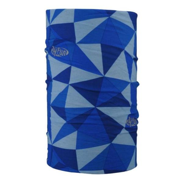 Бандана 4FUN Reflective синий One Size