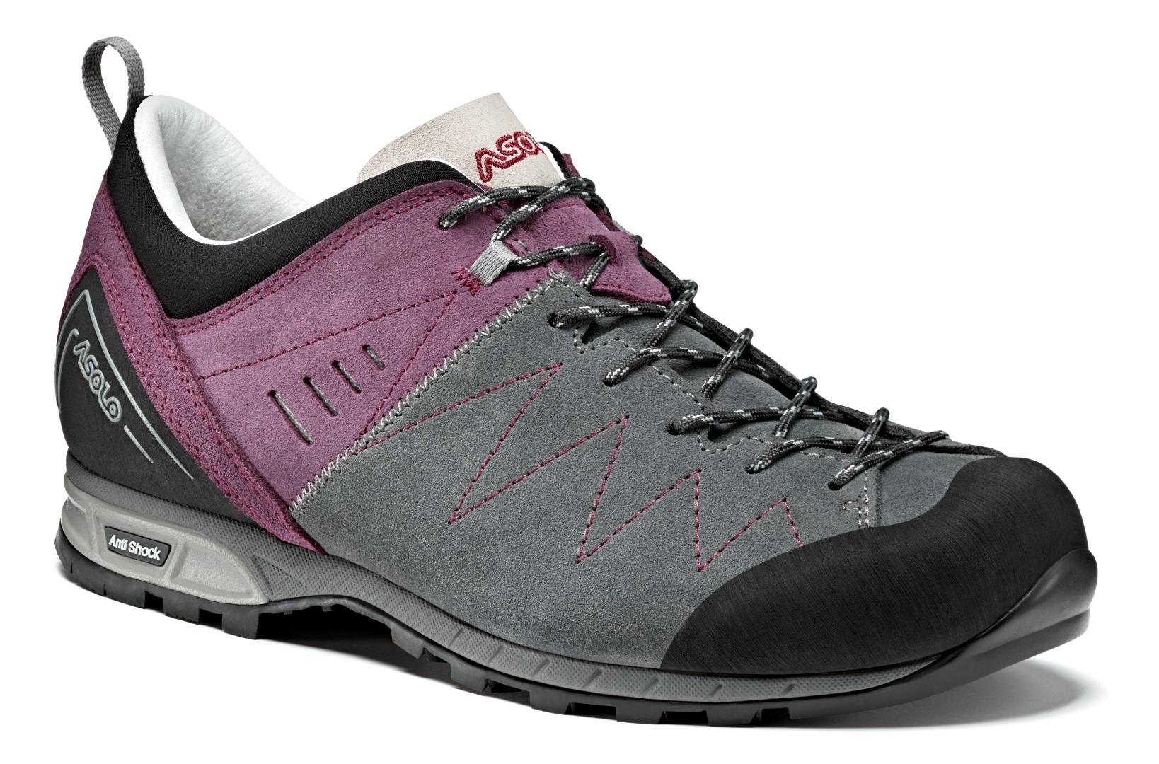 Кроссовки Asolo Track, grigio/grapeade, 4.5 UK