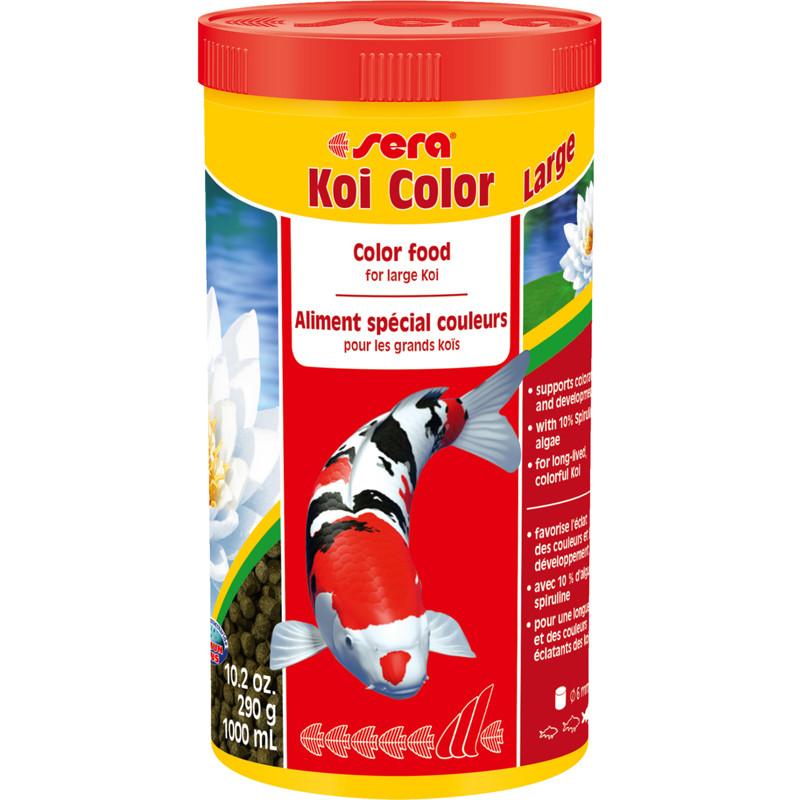 Корм для прудовых рыб Sera Koi Color Large,