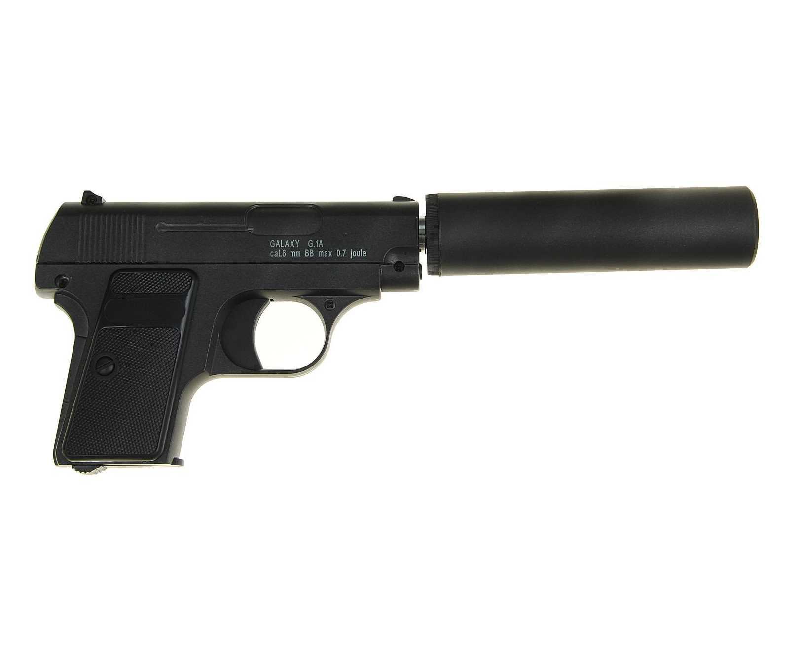 Страйкбольный пружинный пистолет Galaxy (кал. 6 мм) G.1A (Colt 25) фото