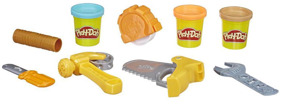 Купить Игровой набор Play-Doh - Строительные инструменты Hasbro, Лепка