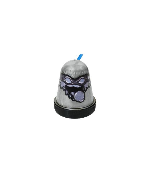 Лизун Ninja Slime, серебристый, 130 гр. Волшебный мир