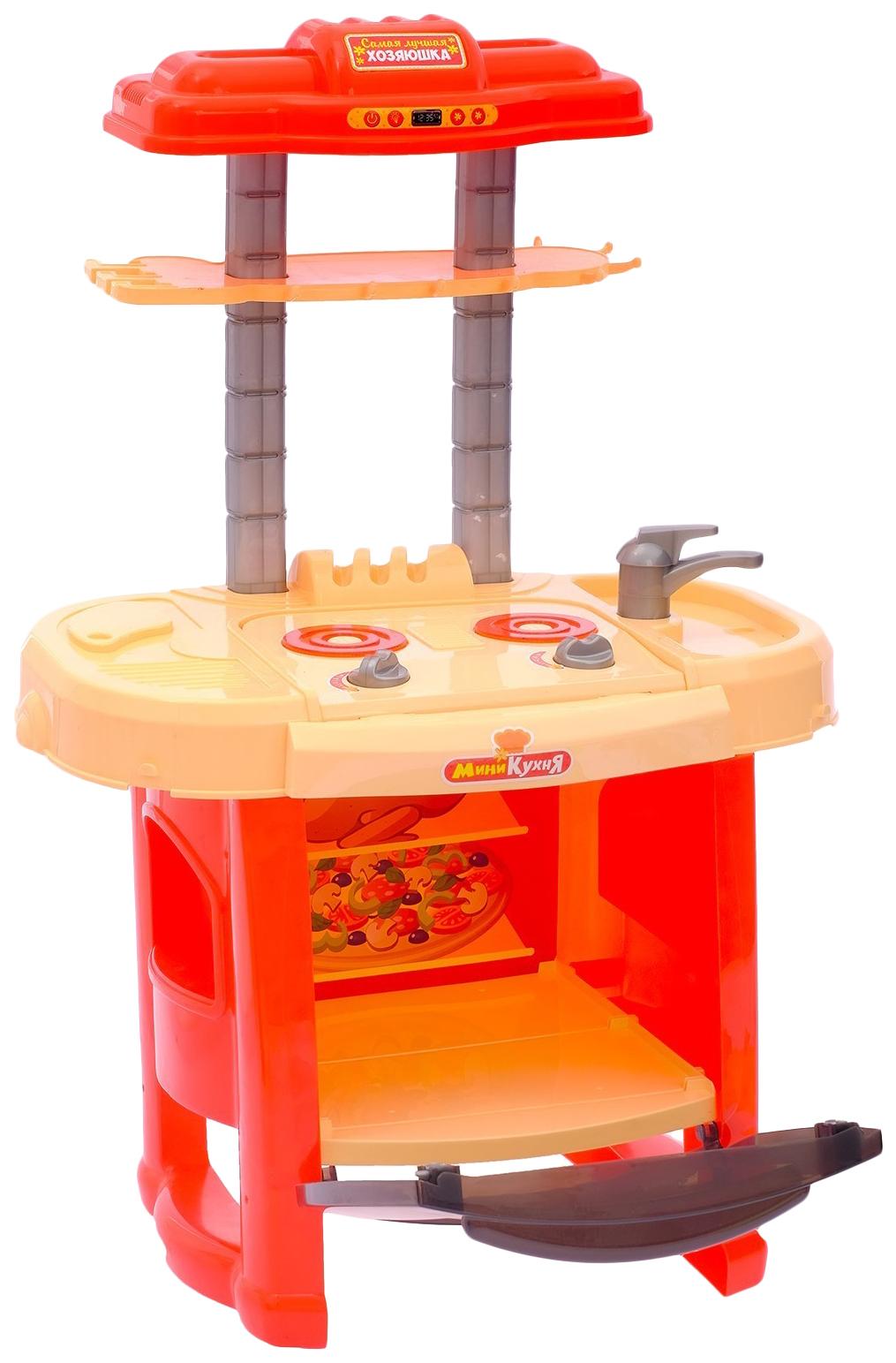 Купить Игровой модуль кухня «Восход» с аксессуарами, световые и звуковые эффекты Happy Valley, Детская кухня