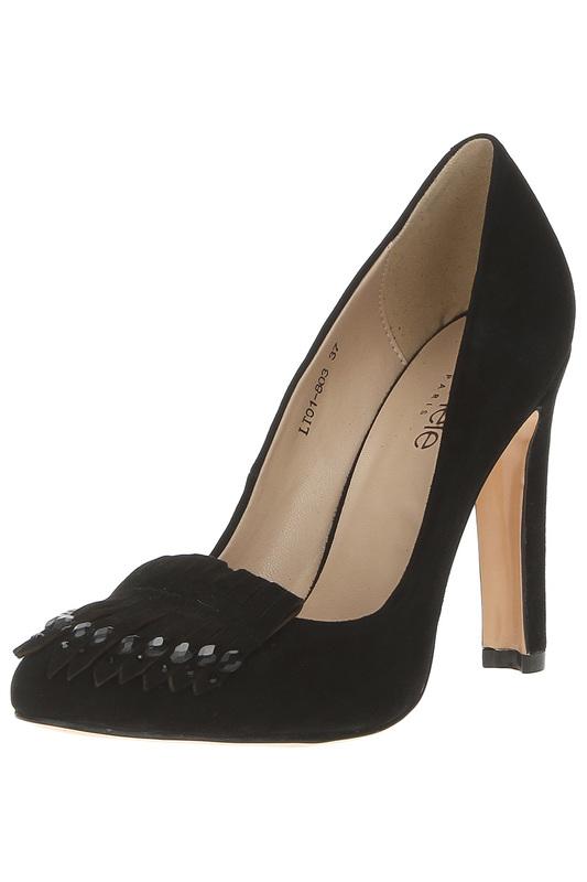 Туфли женские Michele LT01-803 36 RU черные фото