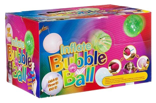 Купить Набор 24 шт. надувных мячей-пузырей, до 50 см, D/B 26x17x17см, арт.7S1531., Shenzhen Toys, Воздушные шарики