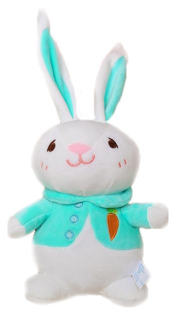 Купить Мягкая игрушка Sima-Land Зайчик в кофточке 3953361 В ассортименте, Мягкие игрушки животные