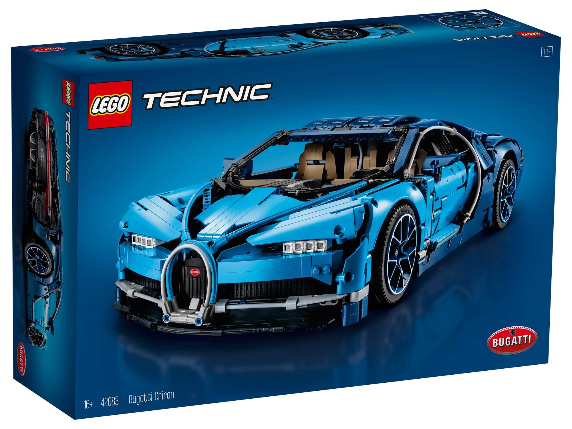 Конструктор Lego Technic Bugatti Chiron 42083 Blue