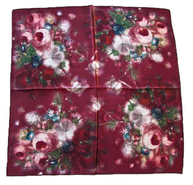 Платок женский Tranini 0578 PLATOK 10 красный фото