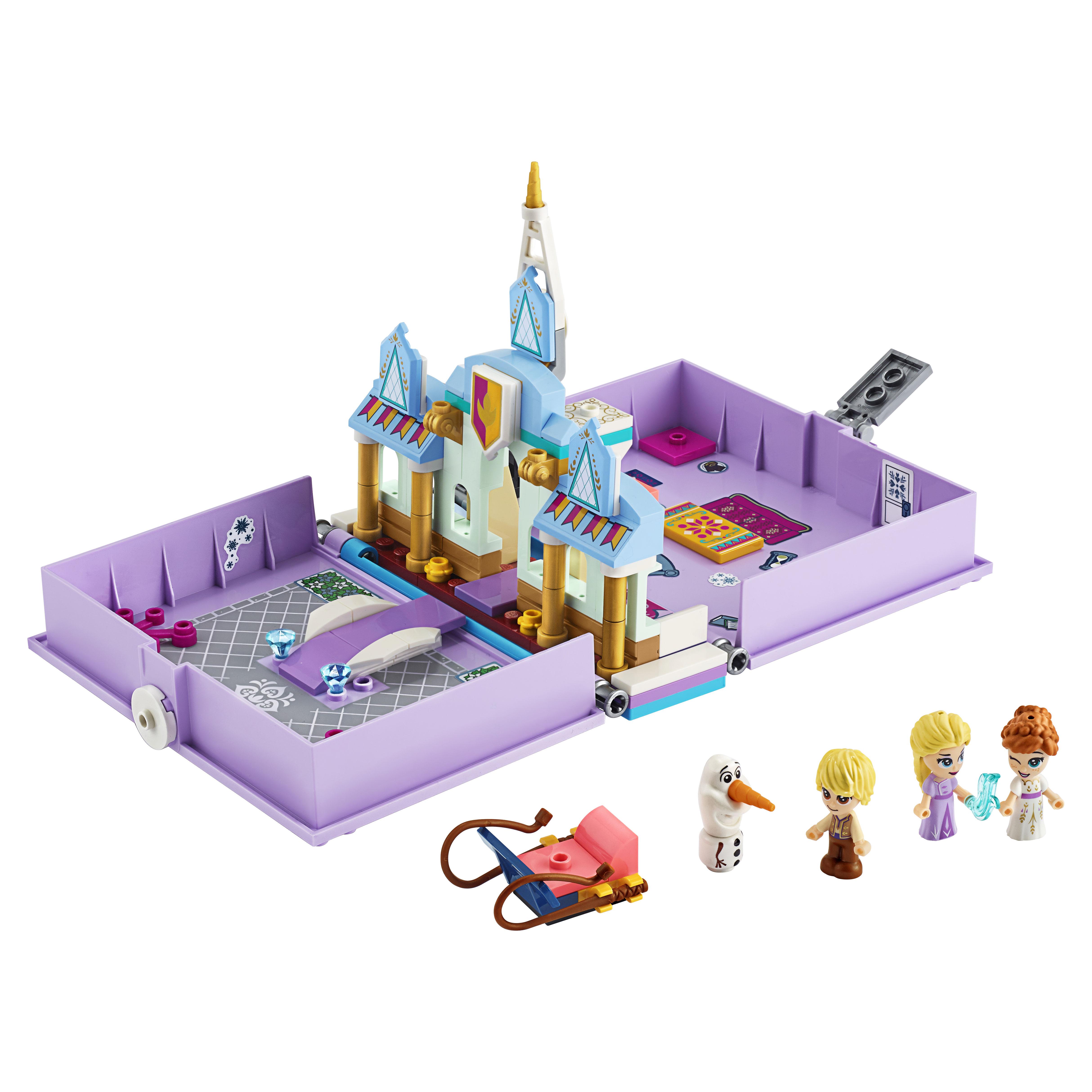 Конструктор LEGO Disney Frozen 43175 Книга сказочных приключений Анны и Эльзы фото