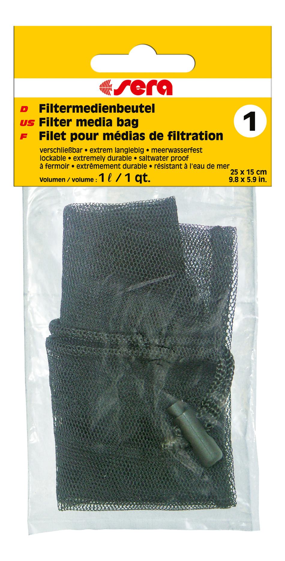 Мешок для фильтрующих материалов Sera №1 для фильтров,